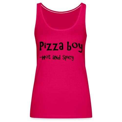 Pizza boy - Premium singlet for kvinner