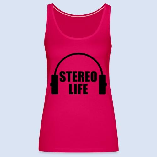 STEREO LIFE - Frauen Premium Tank Top