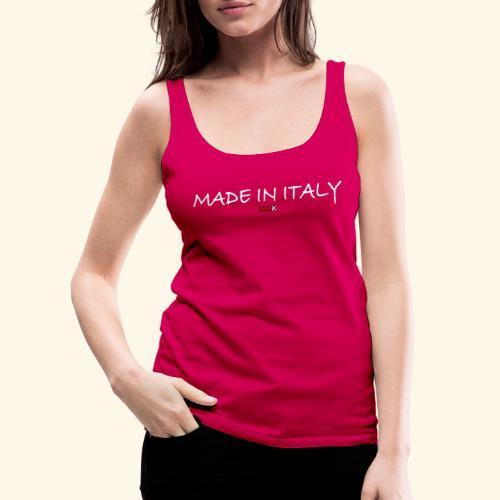 nmk made in italy - Canotta premium da donna