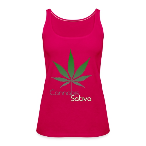 Cannabis Sativa CBD - Frauen Premium Tank Top