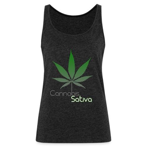 Cannabis Sativa CBD - Frauen Premium Tank Top