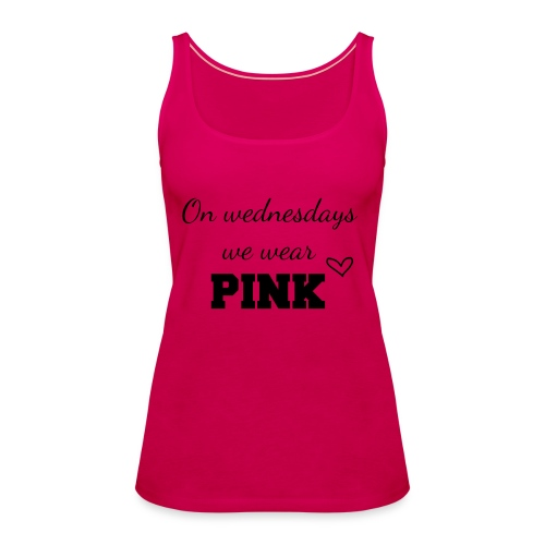 on wednesdays - Vrouwen Premium tank top