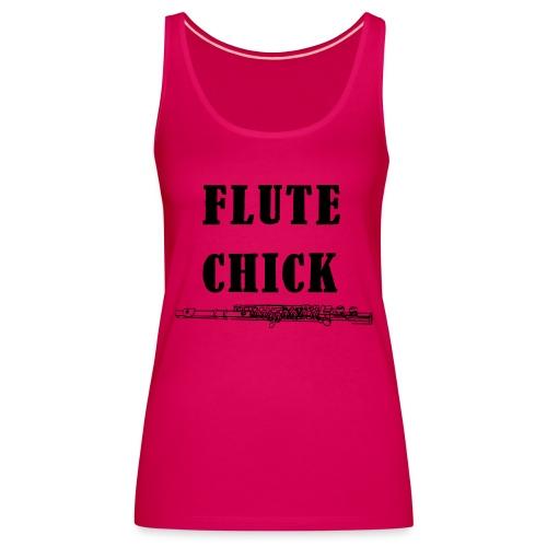 Flute Chick - Premium singlet for kvinner