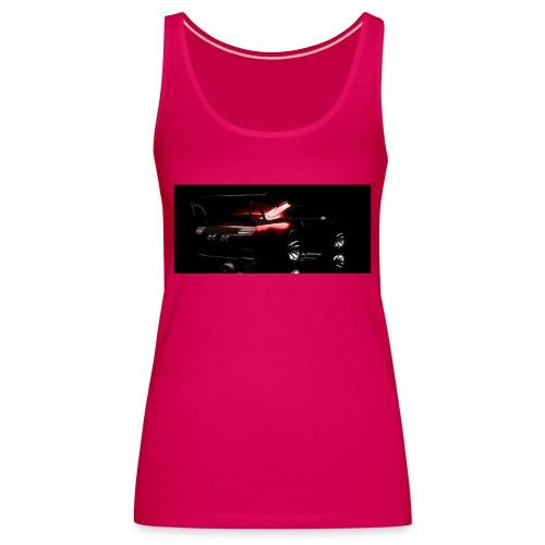 KMI inferno back - Women's Premium Tank Top