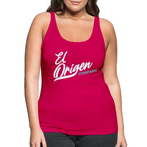 OrigenCompany - Camiseta de tirantes premium mujer
