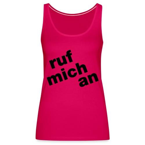 ruf - Frauen Premium Tank Top