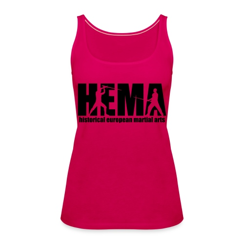 HEMA historical european martial arts - Women's Premium Tank Top