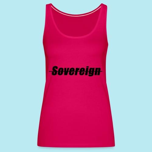 Sovereign Dash Black - Women's Premium Tank Top