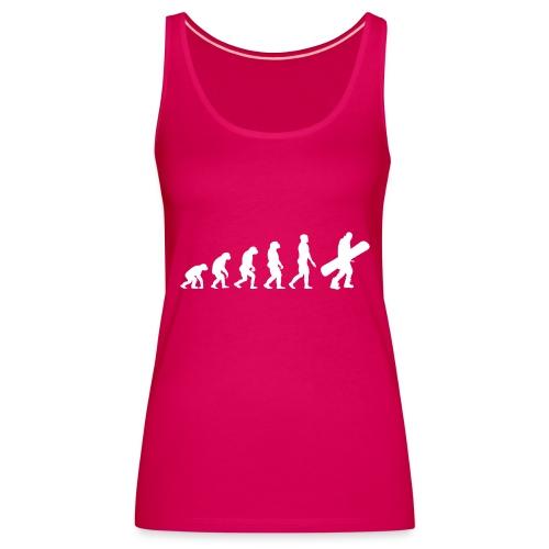 snow evolution - Camiseta de tirantes premium mujer