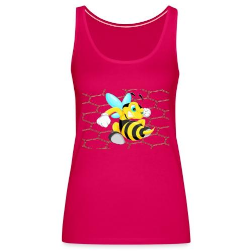 Abeja Guerrera - Camiseta de tirantes premium mujer