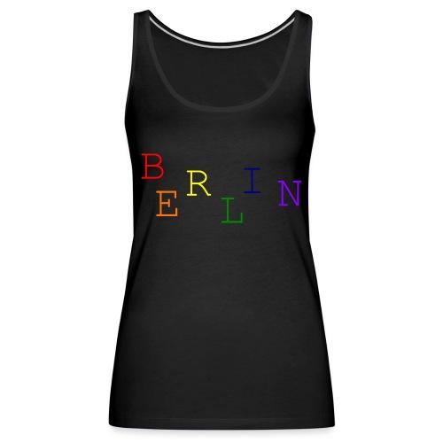 Berlin Rainbow #1 - Frauen Premium Tank Top