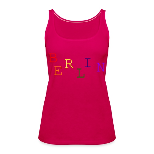 Berlin Rainbow #1 - Frauen Premium Tank Top