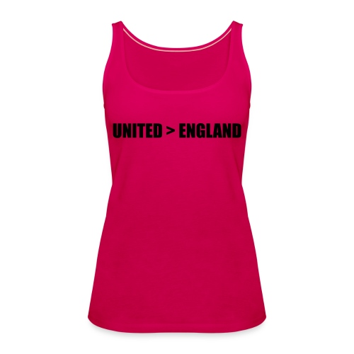 United > England - Women's Premium Tank Top