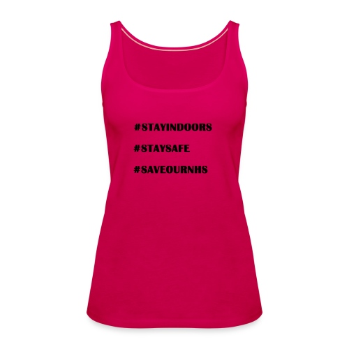 #Save Our NHS - Women's Premium Tank Top