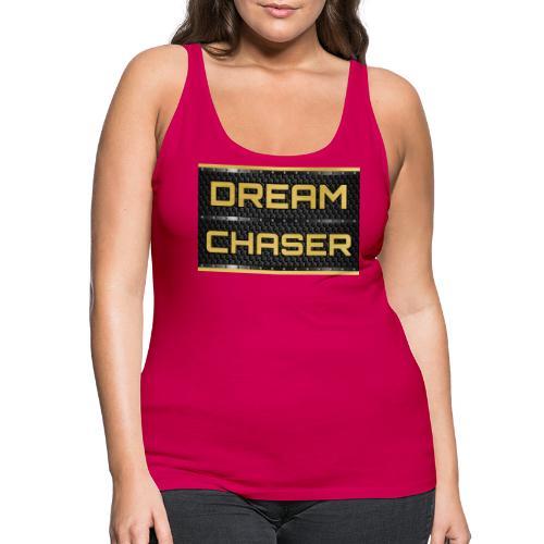 DREAM CHASER Gold - Vrouwen Premium tank top