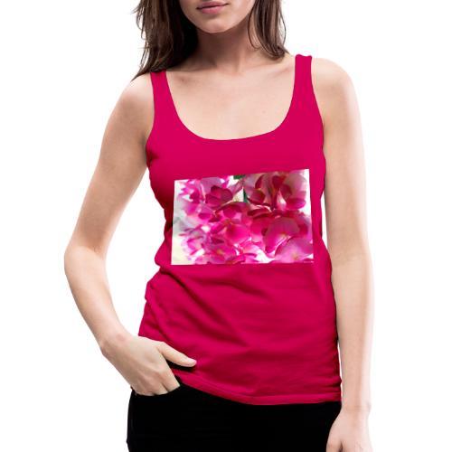 Cotton flowers. - Camiseta de tirantes premium mujer
