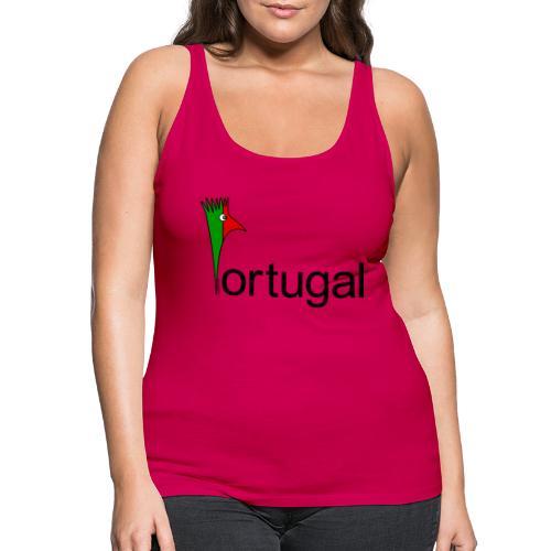Galoloco - Portugal - Débardeur Premium Femme