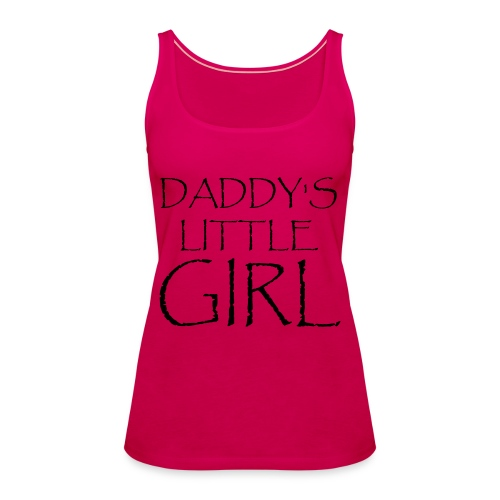 DADDY'S LITTLE GIRL - Frauen Premium Tank Top