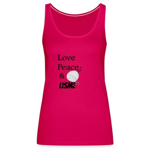 Love Peace & Lisme - Frauen Premium Tank Top