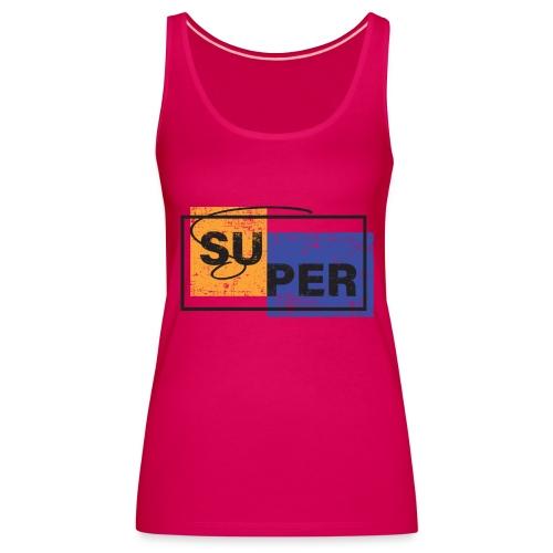 MT AA 000043 - Camiseta de tirantes premium mujer