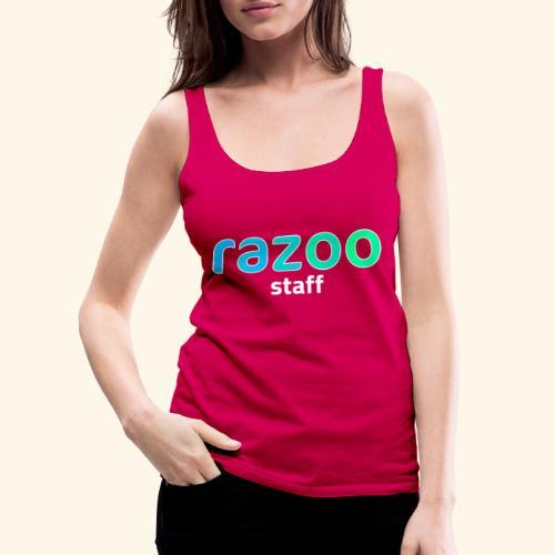 Maglietta staff di Razoo® - Canotta premium da donna