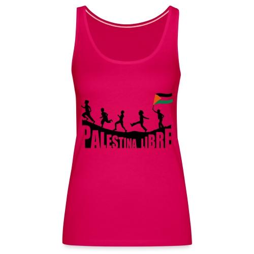 Palestina Libre - Camiseta de tirantes premium mujer