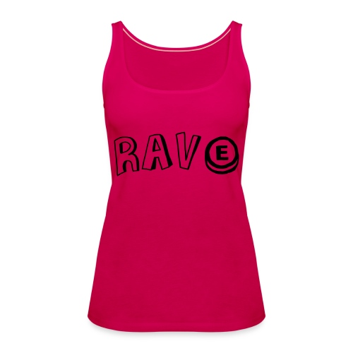 Rave E - Women's Premium Tank Top