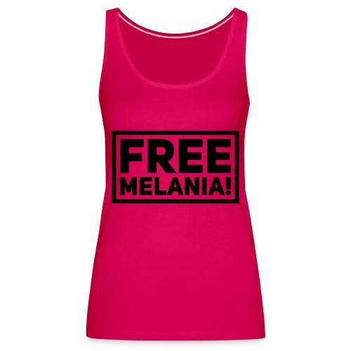 free melania! - Frauen Premium Tank Top