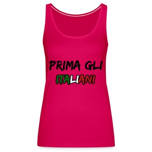 #PRIMA GLI ITALIANI [Mr. Salviny] - Canotta premium da donna