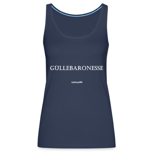 Güllebaronesse - Frauen Premium Tank Top