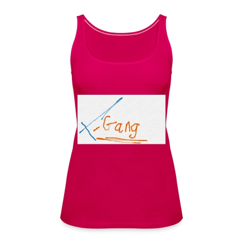 t gang logo - Women's Premium Tank Top