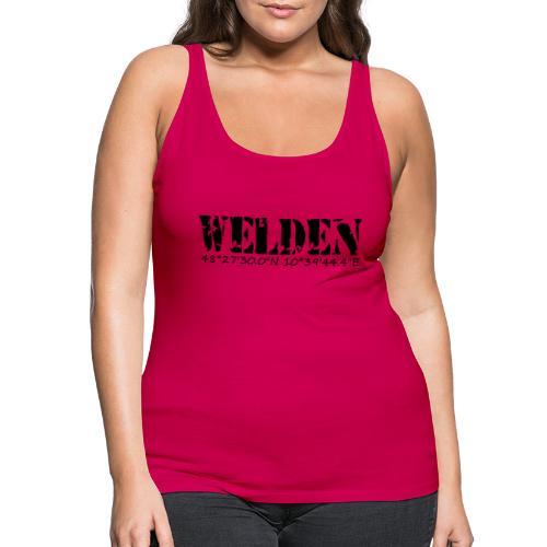 WELDEN_NE - Frauen Premium Tank Top