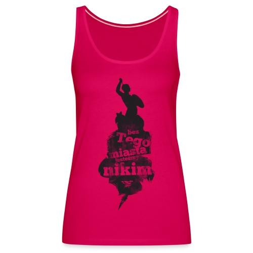 miasto shirt2 - Tank top damski Premium