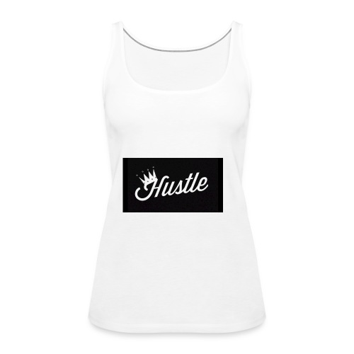 King Hustle - Women's Premium Tank Top