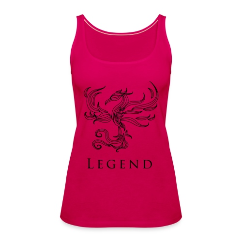 MC Legend Logo - Frauen Premium Tank Top