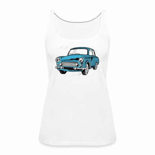Trabant 601 (light blue) - Women's Premium Tank Top