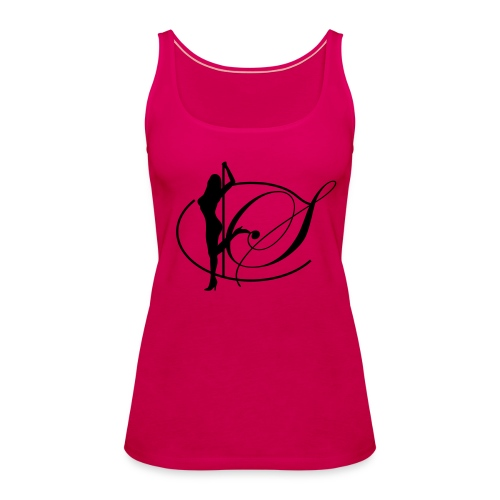 Spaghetti Träger Shirt pink - Frauen Premium Tank Top