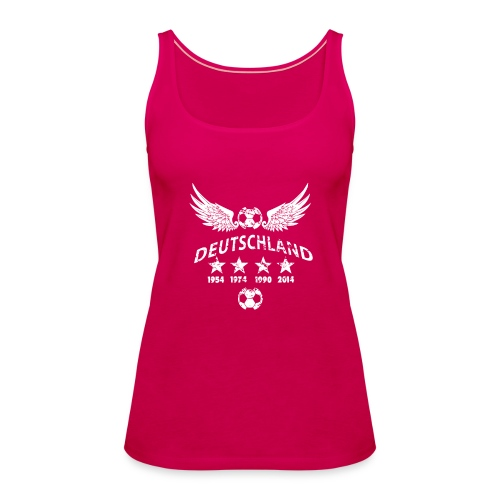 Germany football 2018 - Frauen Premium Tank Top
