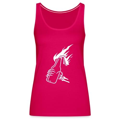 Skeleton Molotov - Women's Premium Tank Top