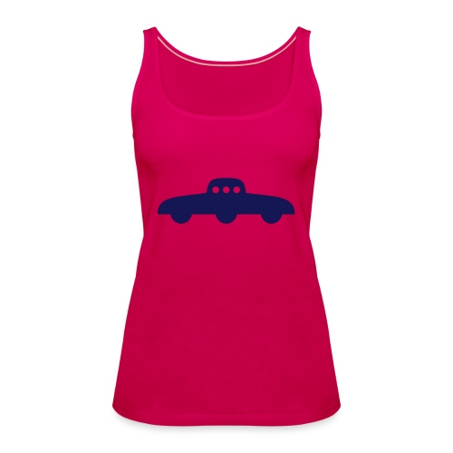 Transparent UFO - Frauen Premium Tank Top
