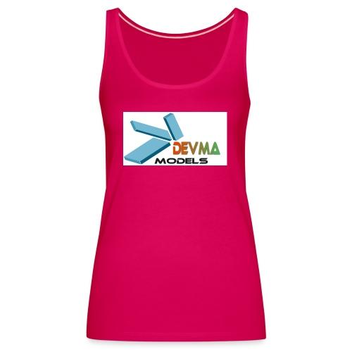 Devma Models Logo - Frauen Premium Tank Top
