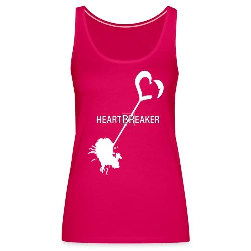 Heartbreaker White - Canotta premium da donna