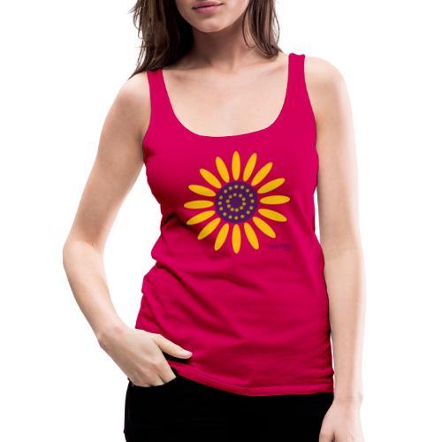 sunflower - Naisten premium hihaton toppi