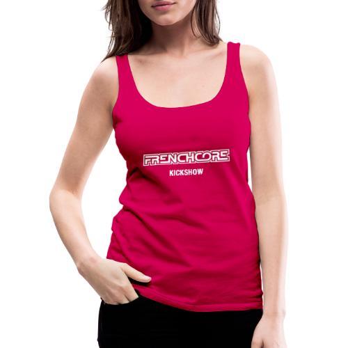 frenchcore - Camiseta de tirantes premium mujer