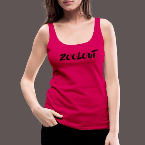 ZOOLOUT_Logo_black - Frauen Premium Tank Top