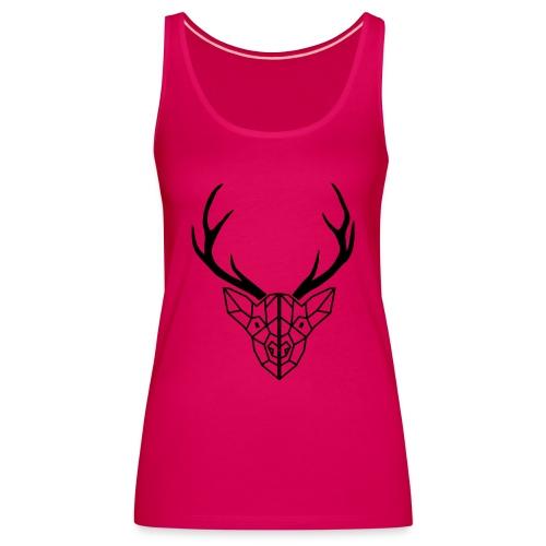 deer antler - Women's Premium Tank Top