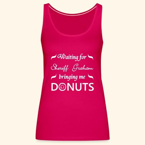 Sheriff Graham Donuts - Women's Premium Tank Top