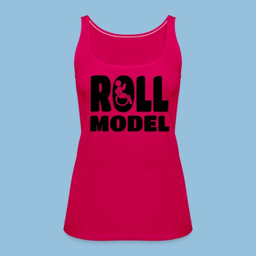 Roll model 016 - Vrouwen Premium tank top