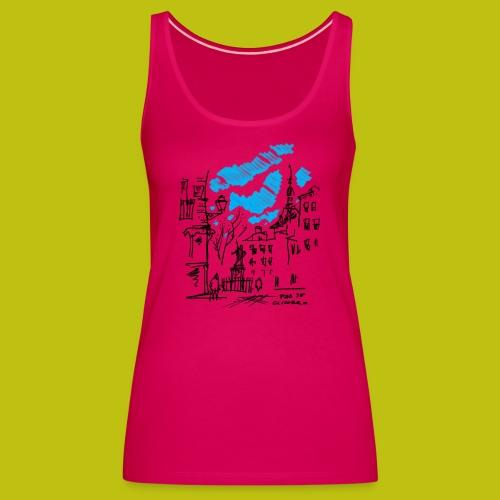 Plaza de Cascorro - Camiseta de tirantes premium mujer