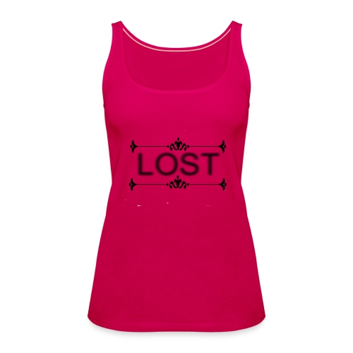 lost stree6 - Women's Premium Tank Top
